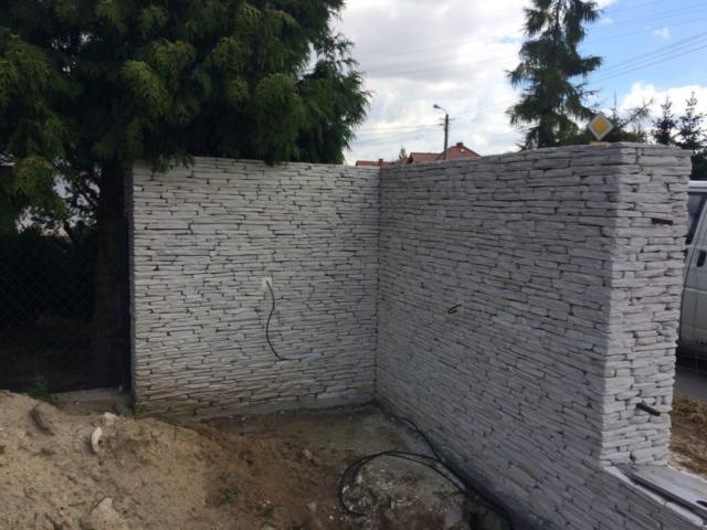 Ogrodzenia kamienne z łupka kwarcytowego