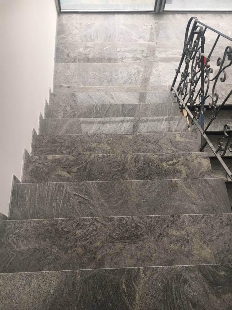 Schody kamienne z granitu